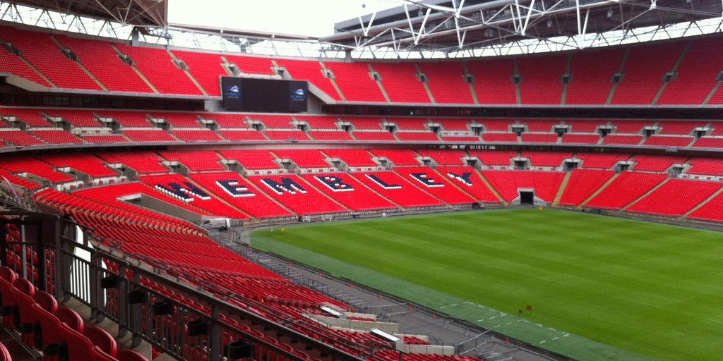 Het heilige gras van Wembley