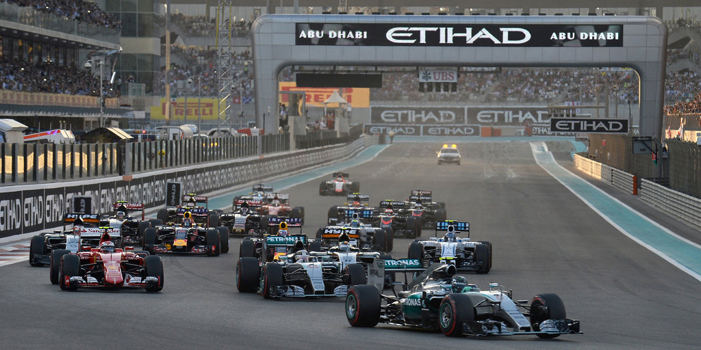 F1 Abu Dhabi met de Staatsloterij